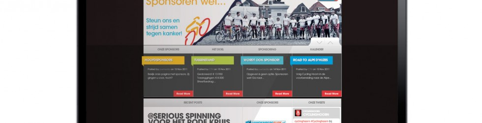 Website gedoneerd aan Cycling Hoorn